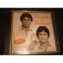 Cd Leandro & Leonardo / Primeiro Disco Da Dupla