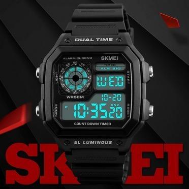 dbe551c27d6 Relógio Masculino Skmei 1299 Digital Frete Grátis!! - R  76