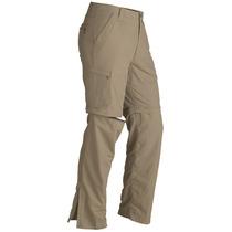 Pantalón Marmot Cruz Convertible Gris,kaki.beige 38, 40