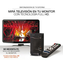 Sintonizadora De Tv Externa Full Hd