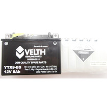 Bateria Ytx9-bs Moto Honda Cb500, Vt600 C Shadow ( Velth)