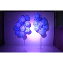 Kit Varetas Com 2 Peça P/ 15 Balões Que Imitam Gás Hélio