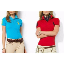 Camisa Camiseta Polo Feminina Ralph Lauren Blusinha Feminina