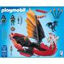 Playmobil Dragones Barco Batalla Del Dragon Original Tv