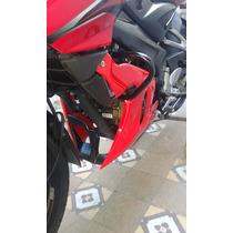 Quilla Sport Bajaj Rouser 200 Ns - Exclusivo Pintado - Rojo