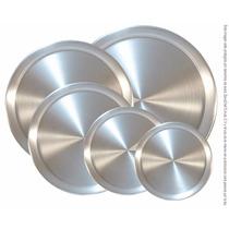 Charola Para Pizza De 8pg Aluminio
