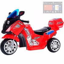 Mini Moto Elétrica Infantil Max Speed Vermelha 12v