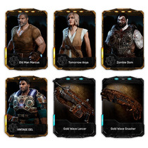 Gears Of War 4 (codigo)dlc Brothers To The End Xbox One O Pc