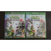Plantas Vs Zombies Garden Warfare Xbox One Nuevo, Sellado
