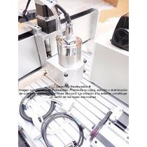 Mini Centro De Maquinado Desktop Cnc Xr-1400, 4 Ejes