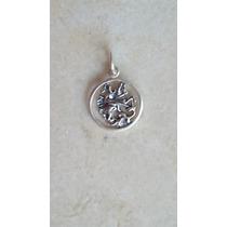 Pingente / Medalhinha São Jorge Prata 925