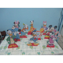 Casa Do Mickey,mickey E Minnie Display De Mesa,infantil,mdf