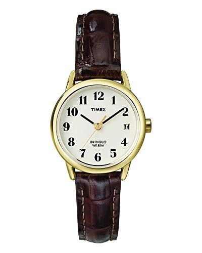 03a32ef958e9 Reloj Timex T20071 Indiglo Con Correa De Cuero Para Mujer ...