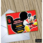 Invitaciones Digitales Personalizadas Mickey Mouse