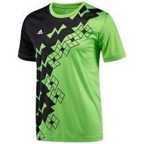 Camiseta Adidas Caballero Fútbol Predator (verde/negro) T-m