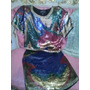 Vestido Dos Piezas Y Blusa De Fiesta Made In India