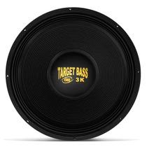 Auto Falante Eros Target Bass 18 Pol 3.0k 1500w Galvanizado