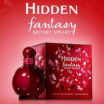 Perfume Hidden Fantasy Britney Spears Eau De Parfum 100ml