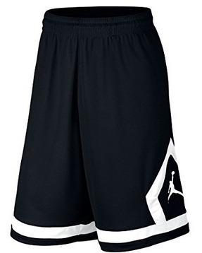 2628d894b24 Nike Air Jordan Flight Diamond Basketball Shorts M Negro -   750.00 ...