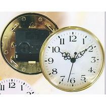 Relojes Insertos 16cm Para Artesanos X 10 Unidades