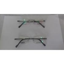 Armação Alemã De Titanium Para Óculos De Grau Infinity -t805