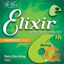 Encordoamento Elixir Contra Baixo 6 Cordas 040 - G Musical