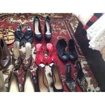 Remato Pares De Zapatos Mujer Tacones Altos Elegantes Bajito