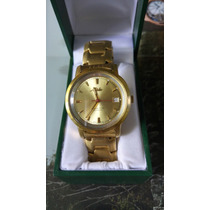Reloj Mido Automatico Ocean Star Aquadura Pvd Oro