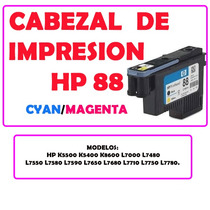 Cabezal De Impresion 88 Hp C9382a Cyan Magenta Envio Rapido