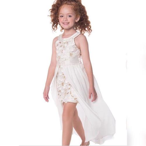 513fc9a1e Vestido Festa Infantil Petit Cherie 10.11.31240 - R$ 299,90 em Mercado Livre