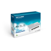 Switch Tp-link Tl-sf1005d 5 Puertos10/100 Red Rj-45 Acs
