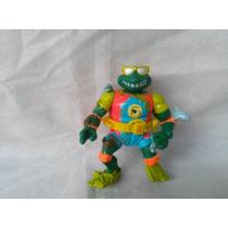 Boneco Coleção Tartarugas Ninja Michellangelo Turtle Brand