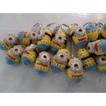 Souvenir Llaveros Minions Crochet. Mataderos Oca