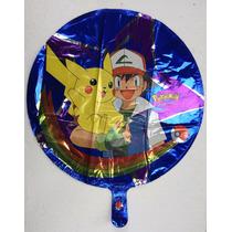 Globo Metálico 18 Pokemon Go Pikachu Fiesta