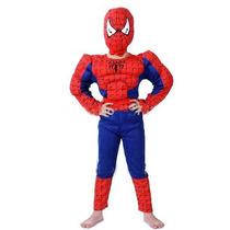 Disfraz Niño Spiderman Hombre Araña Musculoso