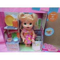 Boneca Baby Alive Comilona Loira- (fala Português) Hasbro