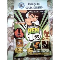 Álbum Figurinhas Ben 10 - 2013 - Completo Para Colar
