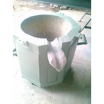 Horno Basculante Para Fundición De Cobre O Bronce