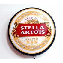 Luminoso Luminária Parede 45cm Stella Artois Led/ Bivolt