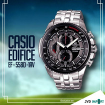 Reloj Casio Edifice Ef-558d-1av - 100% Original