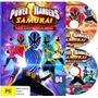 Dvd Power Ranger Samurai - Completo