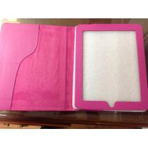 Fundas Color Rosa Para Ipad + Mica De Regalo(lote 8)