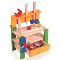Kit De Ferramentas Brinquedo Educativo Bancada Infantil