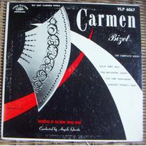Clásica ,carmen, Bizet, Lp 10´, Fn4