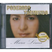 Cd Duplo Mara Lima - Poderoso E Tremendo [cd+playback]