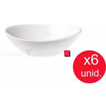 Compotera Cuenco Bowl Prometeo Bormioli Rocco X6 Unid Bazar!