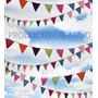 Banderines Para Decoración! Guirnalda Banderas Cumpleaño !!!