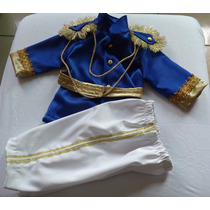 Fantasia Principe Infantil Super Luxo - 05 À 08 Anos