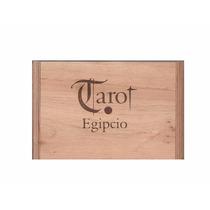 Cartas De Tarot Egipcio Edicion Especial + Caja De Madera