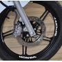 Adesivos Roda Interno Moto Fan Titan Sport Honda Turnada